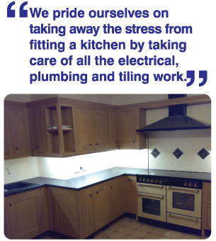 Our Kitchen Fitting Service